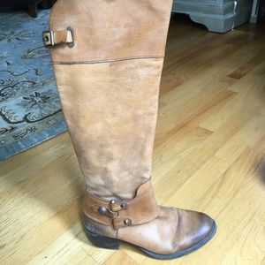 VINCE CAMUTO TAN KNEE HIGH BOOTS